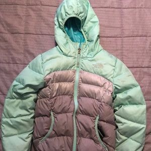 North Face 550 Girls Winter Jacket s 7/8